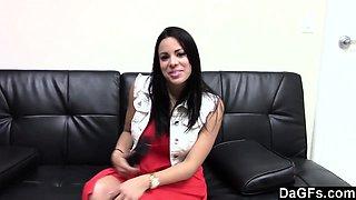 Hot Latina Fucking Her Casting Agent