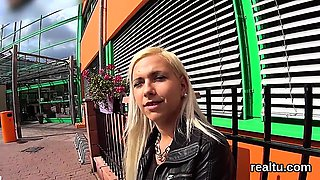 Glamorous czech sweetie is teased in the supermarket and fuc