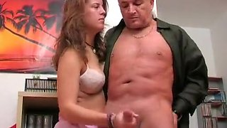 Amazing Amateur video with Handjob, Young/Old scenes
