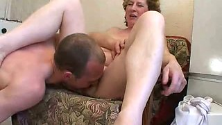 Old and young group fuck