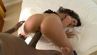 Asian slut London Keyes Vs Mandingo Big Black Cock