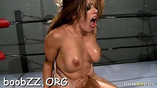 Stunning cutie gets fucked actually rough in the sport ring