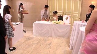 Bride Takes Uncle, 2 Friends, Groom At Japanese Wedding 2