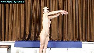 Cute Berezka new gymnast super hot