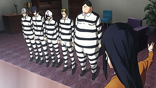 Prison School (Kangoku Gakuen) anime uncensored #12 (2015)