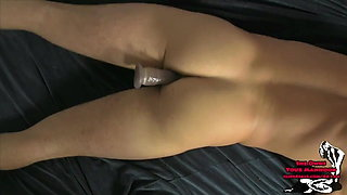 Alexis Grace in Sexy Sexy Pegging w Lance Hart NYLONS BOOBS