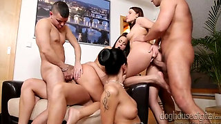 SWINGER ORGY WITH THE WIVES