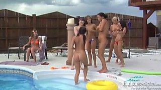 Lesbian Pool Party bikini