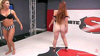 fancy some naked lesbian wrestling?