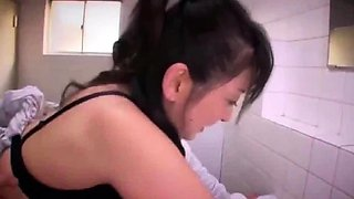 Japanese Teacher fucked in toilet