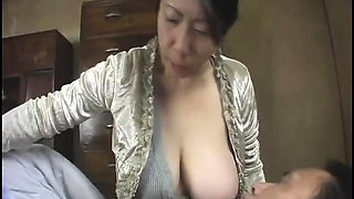 Son like Milf's white breast - Watch Part 2 On HDMilfCam.com