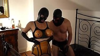 Rubber whore - pissing and fucking - part 6-6