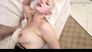 Big ass slut rides big cock. Cum in mouth. Hot amateur slut