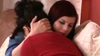 Housewife seduced by TS babysitter