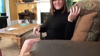 maid licking feet
