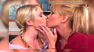 milfs kissing teens compilation