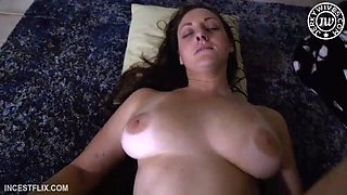 mom waiting in doggy style for son fucker