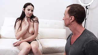 Stepuncle paid Kyra to bang her pussy