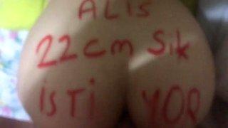 Alis 22 cm yarak istiyor