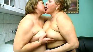 Anna is a chubby slut with big natural tits who loves girl on girl action