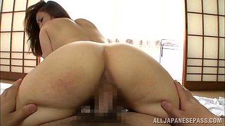 Yurie Matsushima hot Asian housewife is a horny milf