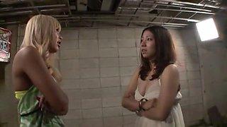 Hottest Japanese girl Ryo Akanishi, Hinata Tachibana in Amazing Group Sex, Handjobs JAV clip