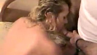 Amateur MILF stuffed with a sex toy and drilled from behind
