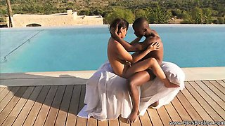 African Ebony Love Outdoors