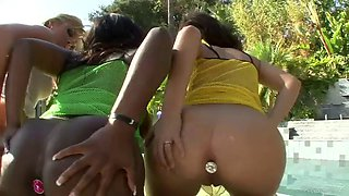 interracial group sex with ebony jada fire and blonde and brunette milfs
