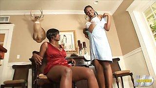 Bare-Legged Boss Lady