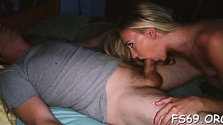 Sister and brother arrange a actually smutty family sex act