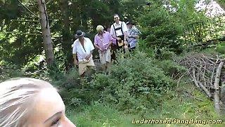 outdoor groupsex swinger orgy