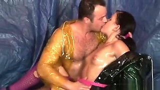 Oiled Teen Suck And Fuck Big Cock