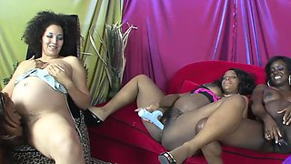 Black pregnant babes are being very naughty