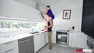 Jasmine Vega In New House Kitchen Sex