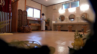 Young Japanese Wife Fucked By Strangers In Onsen Spa
