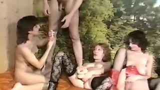Trashy bitch gets her pussy hole stretched wide in a kinky fisting porn scene