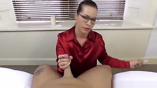 Cassie Clarke Secretary Blowjob