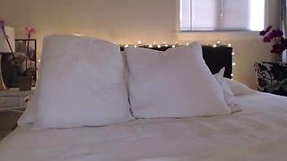 Milf haze - white bikini webcam session