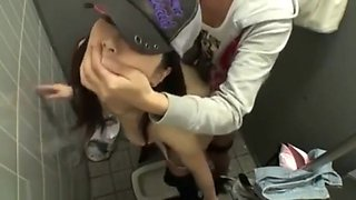 Japanese girl fucking toilet part2