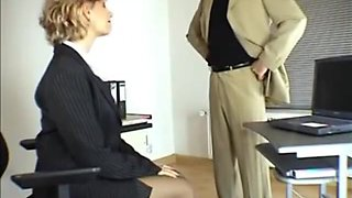 secretary pantyhose 480p