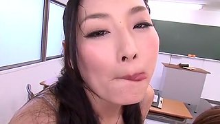 Fabulous Japanese slut Akari Hoshino, Leila Aisaki, Risa Murakami in Amazing Group Sex, Facial JAV clip