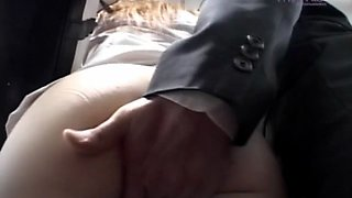 flashing tits and pussy in a car clip video 1