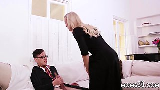 Mom and teacher student hot pal' chum's daughter threesome H