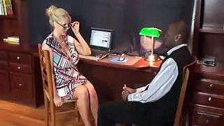 Ajx blonde boss wants bbc 17