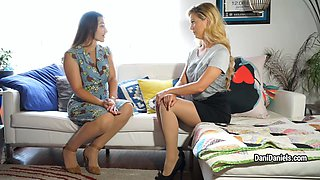 Dani Daniels - Custom Videos: Dani And Cherie Pantyhose Pt.1