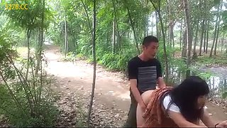 China outdoor quickie sex