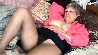 Mary exposed on bed