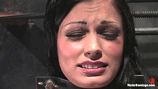 Waterbondage Exclusive Aria Giovanni is here