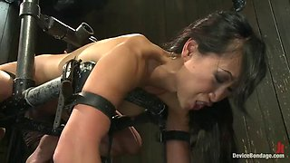 bondage scene with the sexy asian slut tia ling